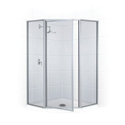 "Legend 70"" Neo Angle Swing Door Shower Enclosure Product Photo"