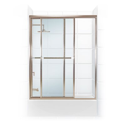 """Paragon Series 57.5"""" x 55.31"""" Framed Bypass Tub Enclosure Product Photo"""