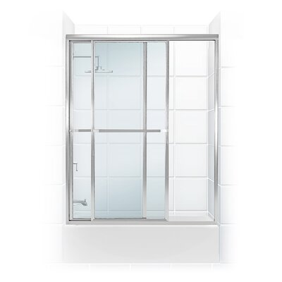 "Paragon Series 53.5"" x 58.31"" Framed Bypass Tub Enclosure Product Photo"