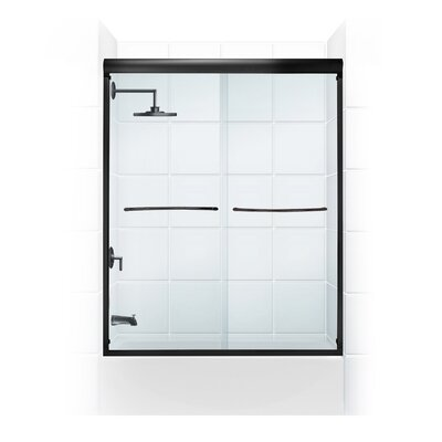 "Paragon 54'' x 58""  Bypass Shower Enclosure Product Photo"