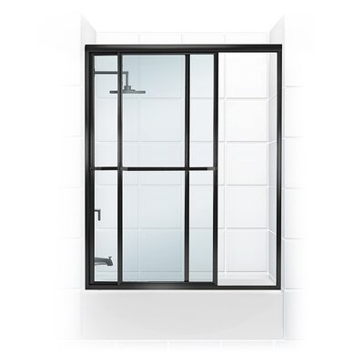 57.5'' x 57.31'' Framed Paragon Bypass Tub Enclosure Product Photo