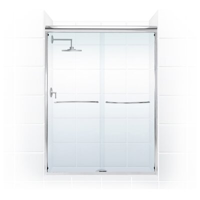 """3/8"""" Frameless Paragon Bypass Shower Enclosure Product Photo"""