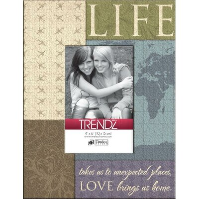 Trendz Life Decoupage Tabletop Photo Frame by Timeless Frames