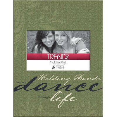 Trendz Dance Decoupage Tabletop Photo Frame by Timeless Frames