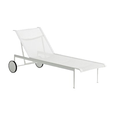 Richard Schultz 1966 Chaise Lounge with Wheels