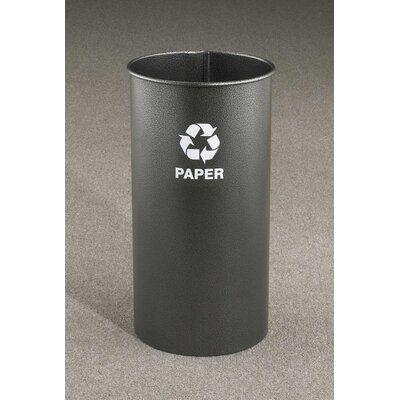 RecyclePro 9-Gal Single Stream Open Top Recycling Waste Basket by Glaro, Inc.
