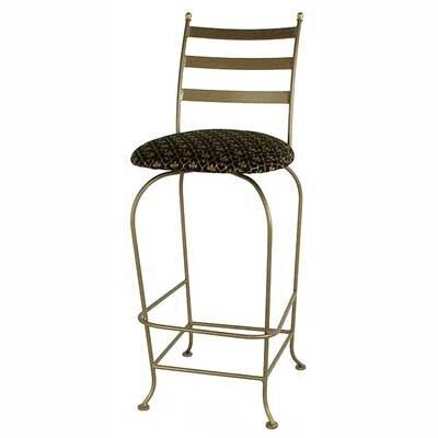 "Grace Collection Carolina 24"" Swivel Bar Stool with Cushion"