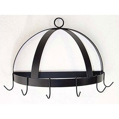 Half Dome Wall Mounted Pot Rack by Grace