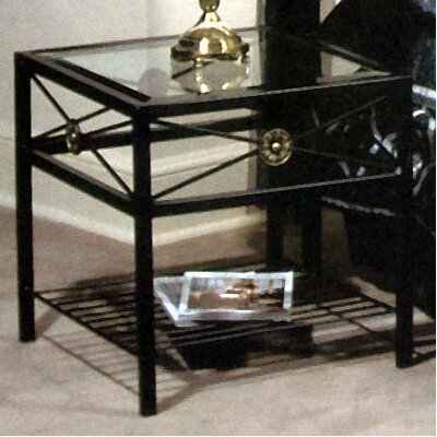 Grace Collection Neoclassical Nightstand