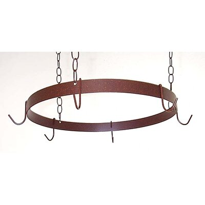 Round Ceiling Mount Pot Rack by Grace