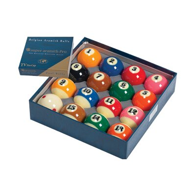 Aramith Billiard Balls - Super Aramith Pro TV