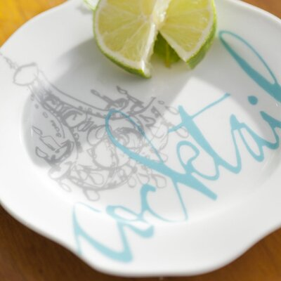 """Rosanna 6.75"""" Cocktails Appetizer Plate"""