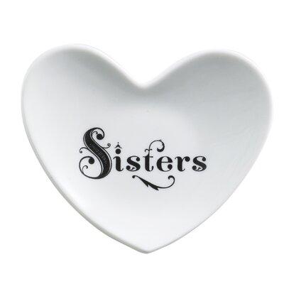 Cross My Heart Sisters Heart Dish by Rosanna