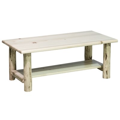 Coffee Table with Shelf by Montana Woodworks®