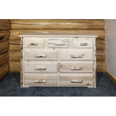 9 Drawer Dresser by Montana Woodworks®