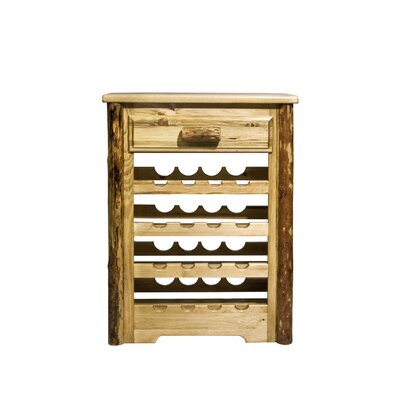 Glacier Country 16 Bottle Wine Cabinet by Montana Woodworks®