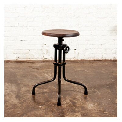 District Eight Design V19R Adjustable Height Swivel Bar Stool