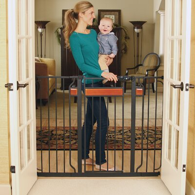 Extra Tall Home Accents Walk-Thru Gate by Regalo