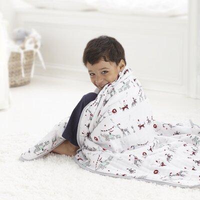 Vintage Circus Dream Cotton Blanket by aden + anais
