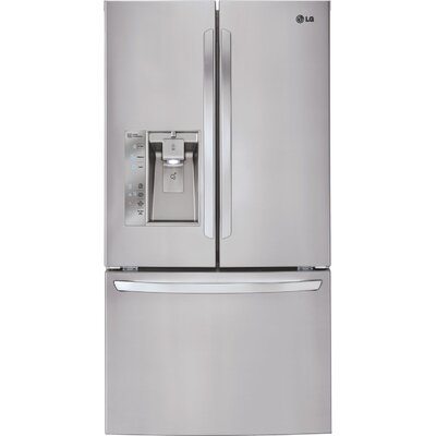 20.9 cu. ft. French Door Refrigerator in Stainless steel with Door-in-Door Product Photo