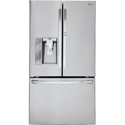 19.5 cu. ft. French Door Refrigerator in Stainless steel with Door-in-Door Product Photo