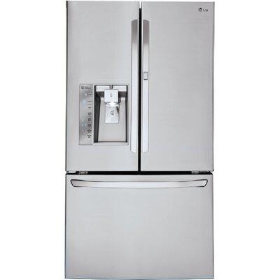 19.5 cu. ft. French Door Refrigerator in Stainless steel with Door-in-Door Product Photo