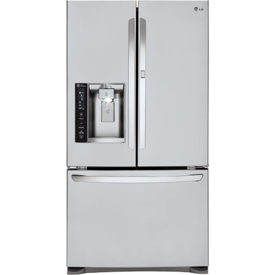 17.7 cu. ft. French Door Refrigerator in Stainless Steel with Door-in-Door Product Photo