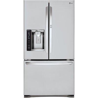 17.7 cu. ft. French Door Refrigerator in Stainless Steel with Door-in-Door Product Photo