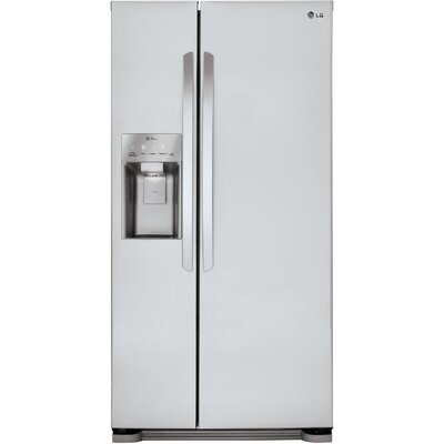 15.01 cu. ft. Side-by-Side Refrigerator in Stainless Steel Product Photo