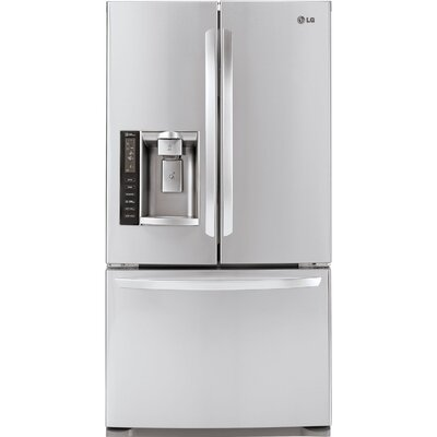 13.7 cu. ft. French Door Refrigerator in Stainless Steel Product Photo