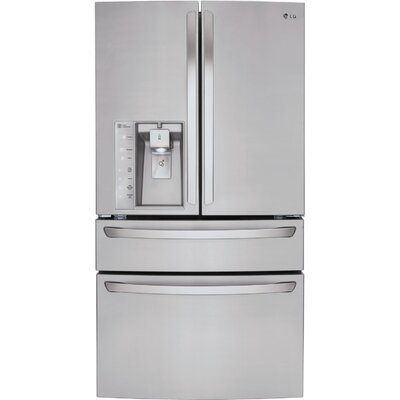 13.5 cu. ft. French Door Refrigerator in Stainless Steel with CustomChill™ Drawer Product Photo