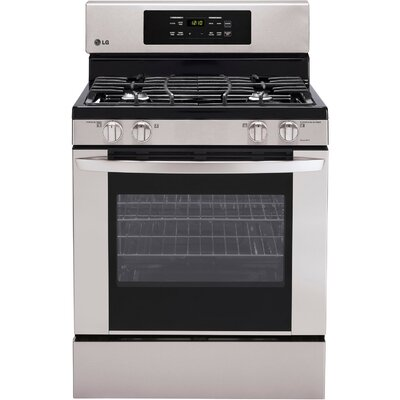 5.4 Cu. Ft. Gas Range in Stainless Steel Product Photo