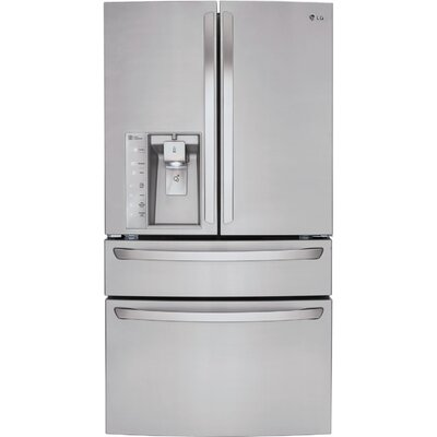 17.3 cu. ft. French Door Refrigerator in Stainless Steel with CustomChill™ Drawer Product Photo