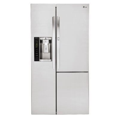 16.9 cu. ft. Side by Side Refrigerator in Stainless Steel with Door-in-Door Product Photo