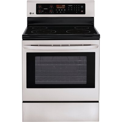 6.3 Cu. Ft. Electric Range in Stainless Steel Product Photo