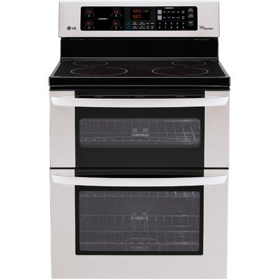 6.7 Cu. Ft. Electric Range in Stainless Steel Product Photo