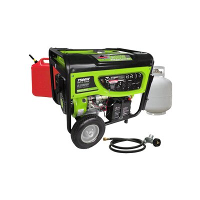 Smarter Tools Smarter Tools 7,500 Watt Dual Fuel Generator with Electric Start