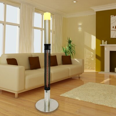 Post Cylindrical Electric Patio Heater by Lava Heat