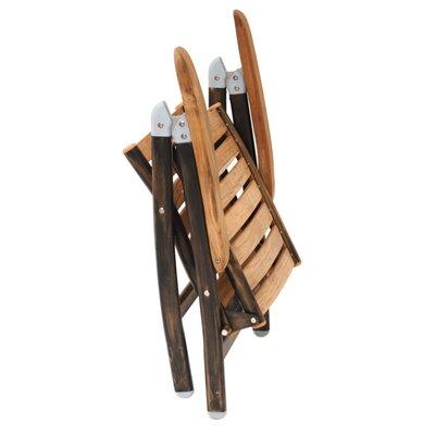 JJ International Maddox Folding Dining Arm Chair