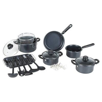 Complete 22-Piece Nonstick Cookware Set by Gourmet Chef