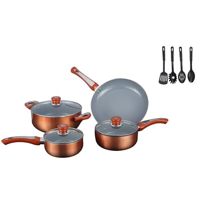 7 Piece Non Stick Cookware Set by Gourmet Chef