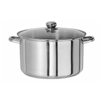 Stainless Steel Stock Pot with Lid by Gourmet Chef