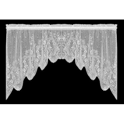 "Floret Swag 68"" Curtain Valance Product Photo"