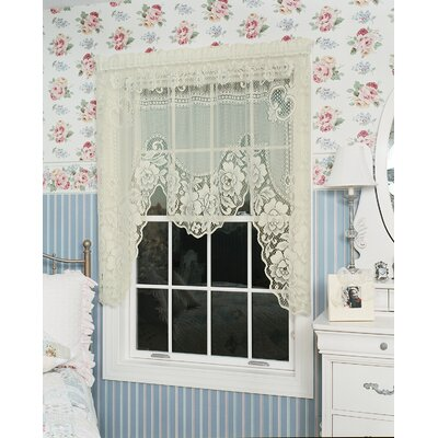 "Victorian Rose Swag 72"" Curtain Valance Product Photo"