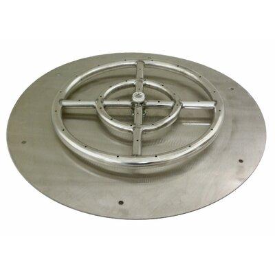 Steel Gas / Propane Flat Pan by American Fireglass