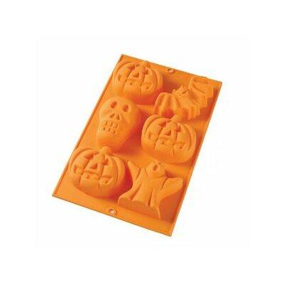 6 Cavity Halloween Mold by Lekue