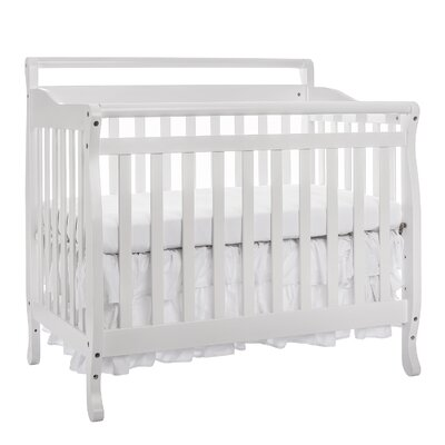 4-in-1 Mini Convertible Crib by Dream On Me