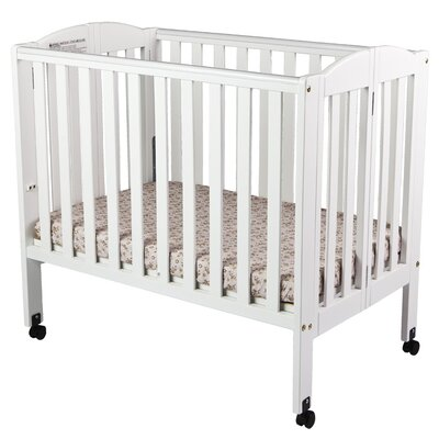 Dream On Me 2-in-1 Portable Folding Convertible Crib