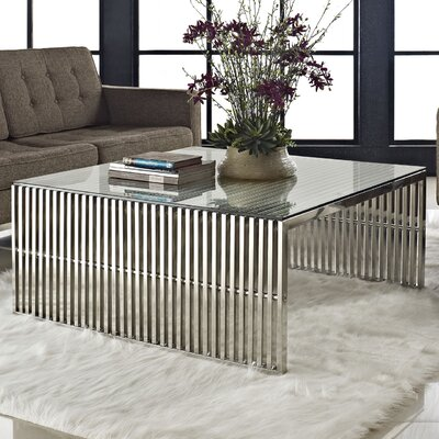 Gridiron Coffee Table by Modway
