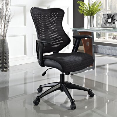 Clutch Mid-Back Mesh Office Chair by Modway